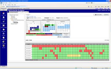 WFM Technology - Agent Self-Scheduling Screenshot