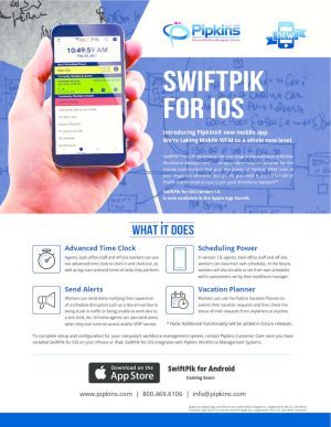 thumbnail of SwifPik for iOS Flyer 0410117
