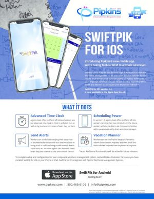 thumbnail of SwifPik for iOS Flyer 082318